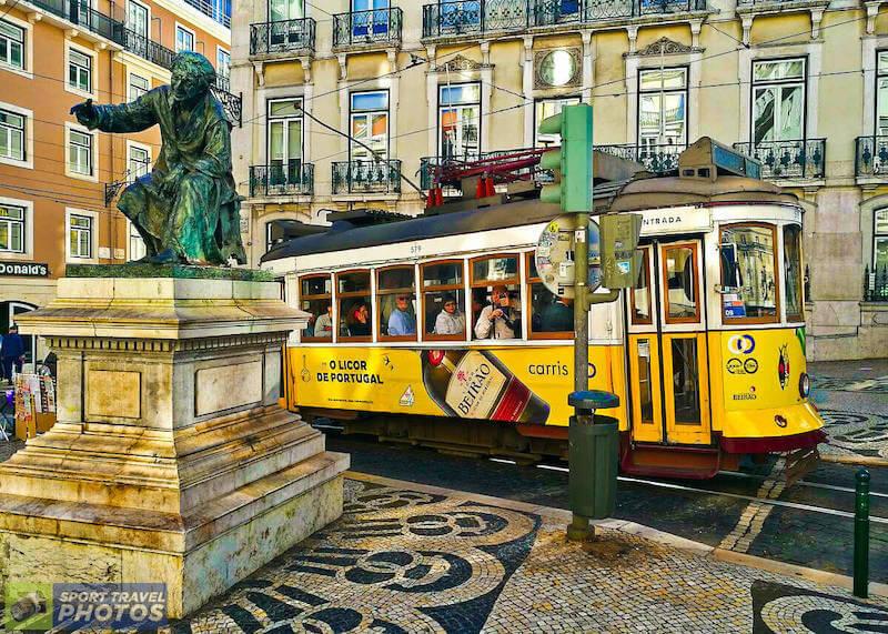Letecký zájezd do Lisabonu během čtvrtfinále Champions League
